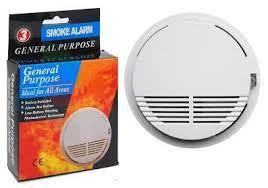 Fire Smoke Detector Alarm Home Wireless Security + free battery