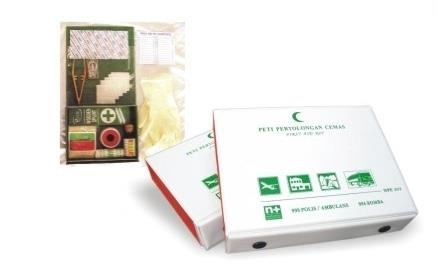 First Aid Kit With Contents NPE202F