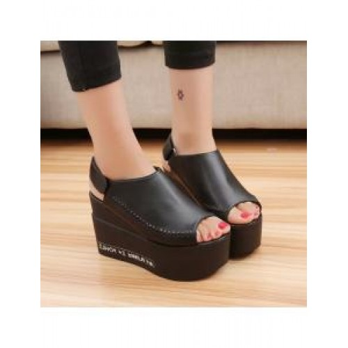Fish head shoes wedges 7611 end 3 12 2019 11 49 pm myt for Fish head shoes