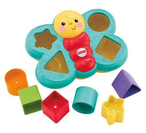 Fisher` Price Butterfly Shape Sorter (For Ages 6-36 Months)