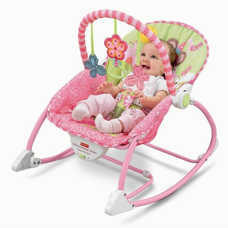 Fisher-Price Infant to Toddler Rocker Princess Mouse H-55