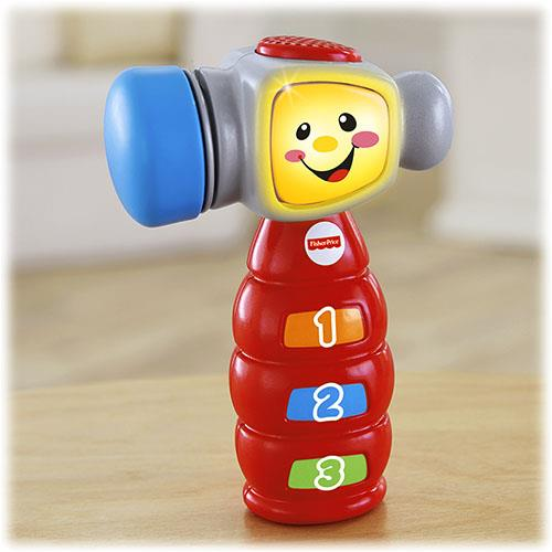 Fisher-Price� Laugh & Learn� Tap �n Learn Hammer 100% Mattel Malaysia