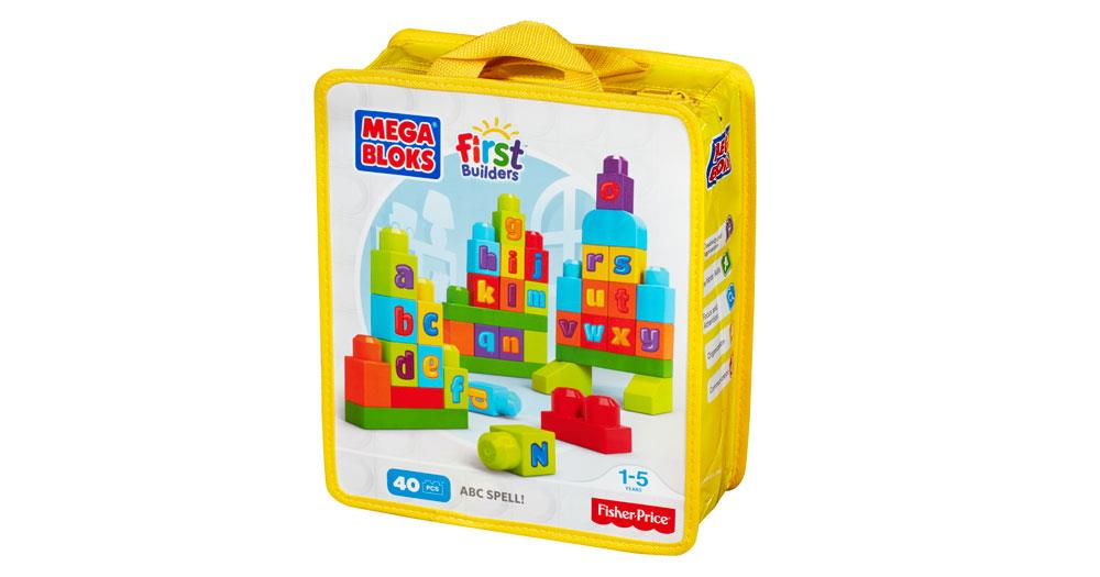 Fisher Price Mega Bloks First Builders ABC Spell (For Age 1-5 Years)