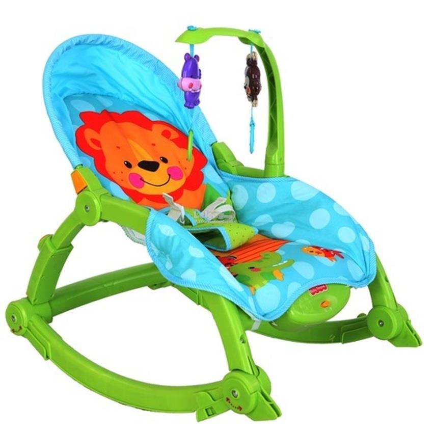 Fisher Price Newborn-to-Toddler Portable Musical Rocking Chair