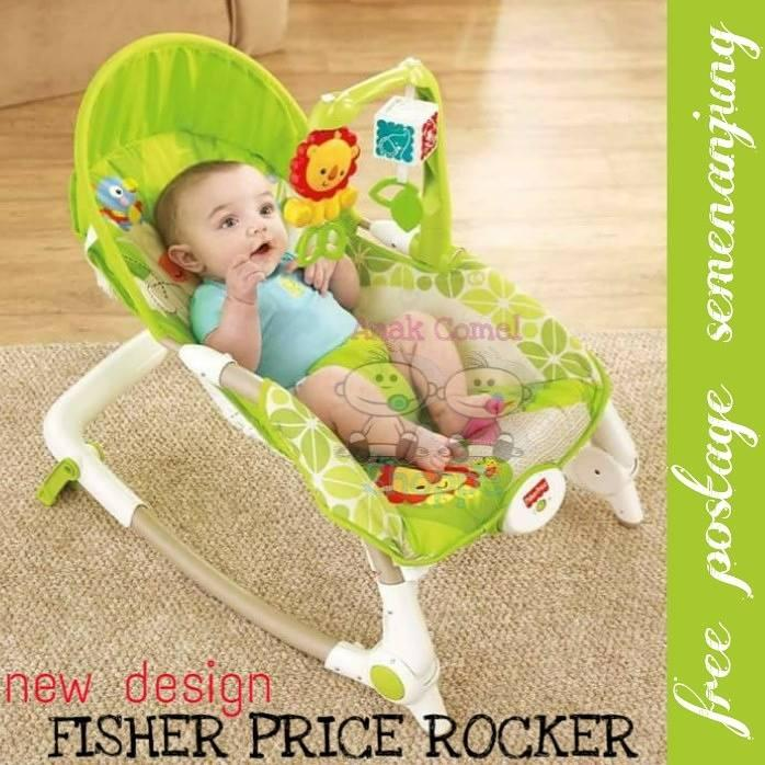 FISHER PRICE NEWBORN TO TODDLER RAINFOREST ROCKER [FREE SHIPPING SM]