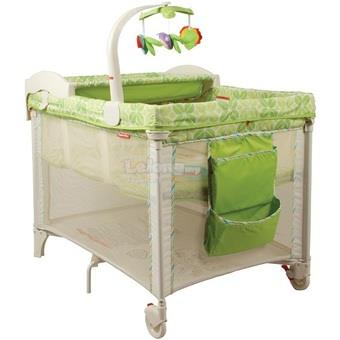 Fisher Price Rainforest Deluxe 3-in-1 Travel Cot