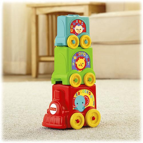 Fisher Price Stack & Roll Train