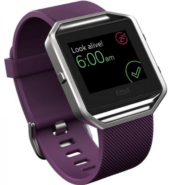 Fitbit Blaze FB502SPML Wristband Fitness Smart Watch Large (Plum)