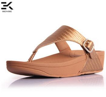 New! Fitflop The Skinny Weave Sandal