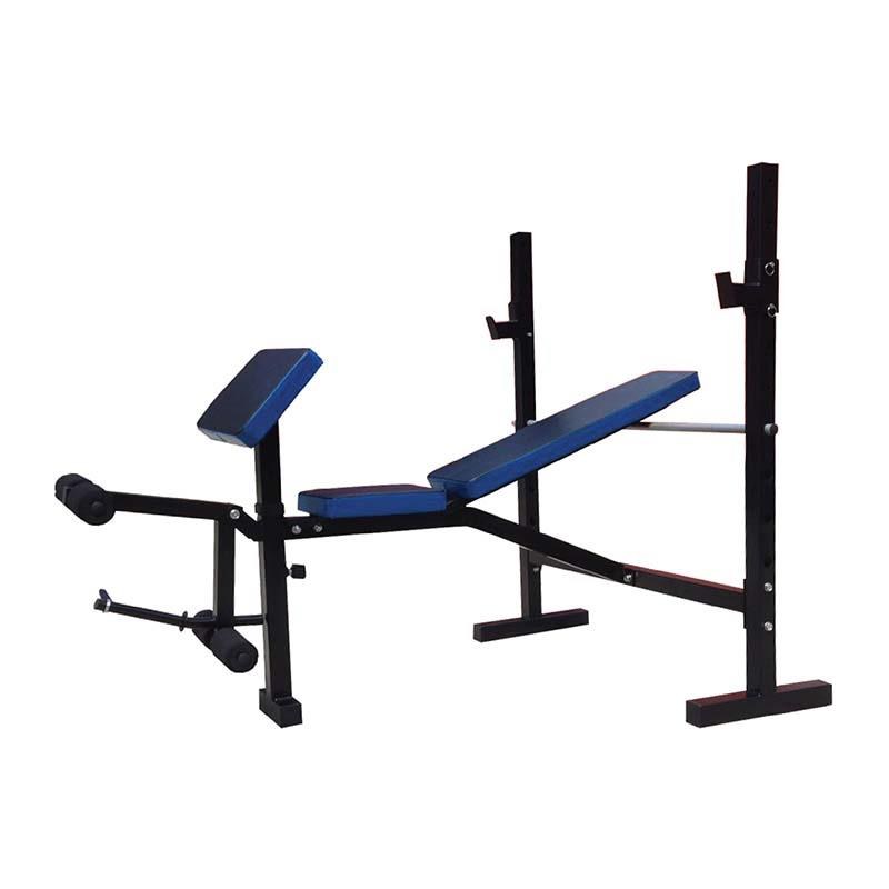 Fitness Adjustable Gym Weight Lifting Barbell Bench Press Compact