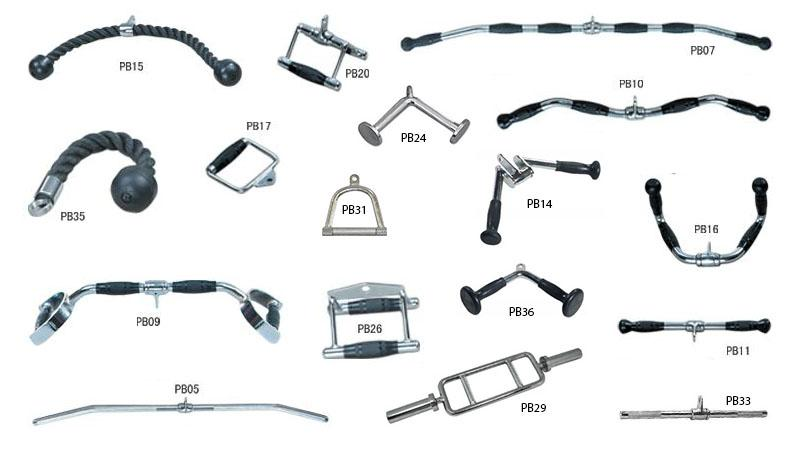 cable exercise machine accessories