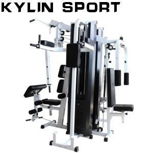 Fitness/Gym Machine 4 Station 440 Pounds Incline Leg Multi Press