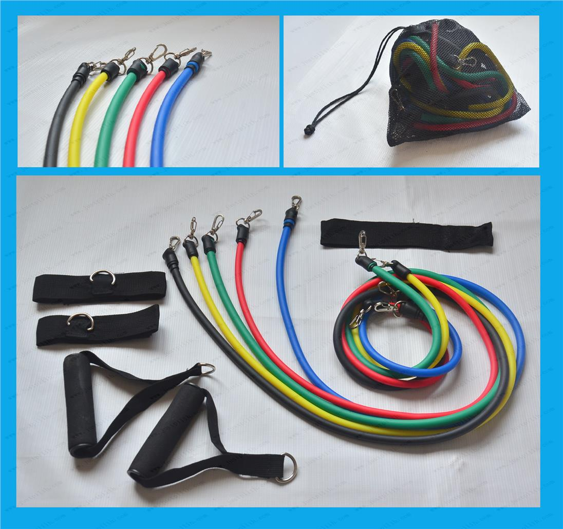 Fitness Resistance Band Gym Set