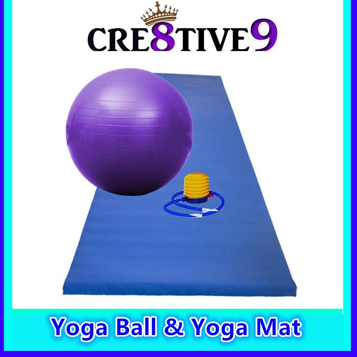 Fitness And Yoga Ball 75cm Purple Fr (end 6/15/2016 6:15 PM