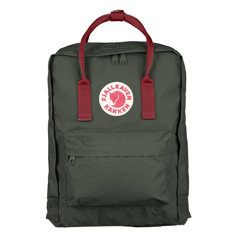 FJALLRAVEN KANKEN CLASSIC BACKPACK F23510 - FOREST GREEN/OX RED
