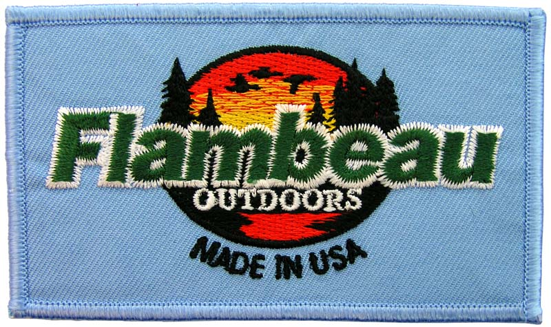 FLAMBEAU FISHING SPORTS EMBROIDERED PATCH #1