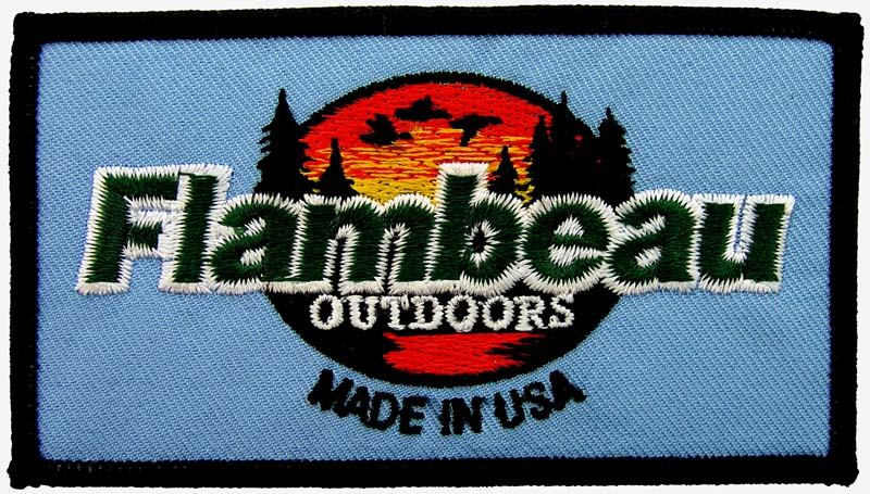 FLAMBEAU FISHING SPORTS EMBROIDERED PATCH #2