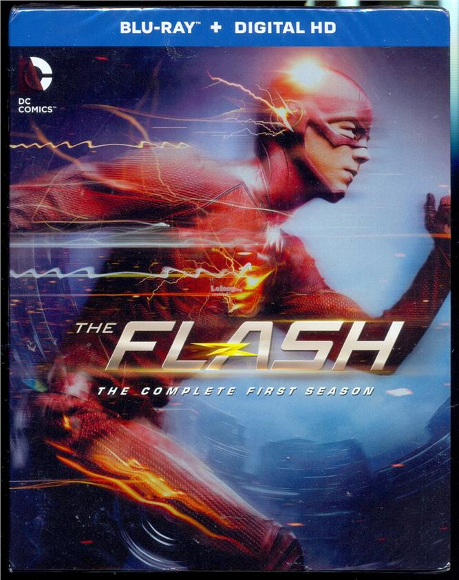 The Flash - The Complete First Season - New Blu-Ray