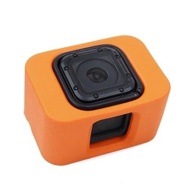 Float Case for Gopro Hero 4 Session with 2 Adjustable Wrist Straps Ora
