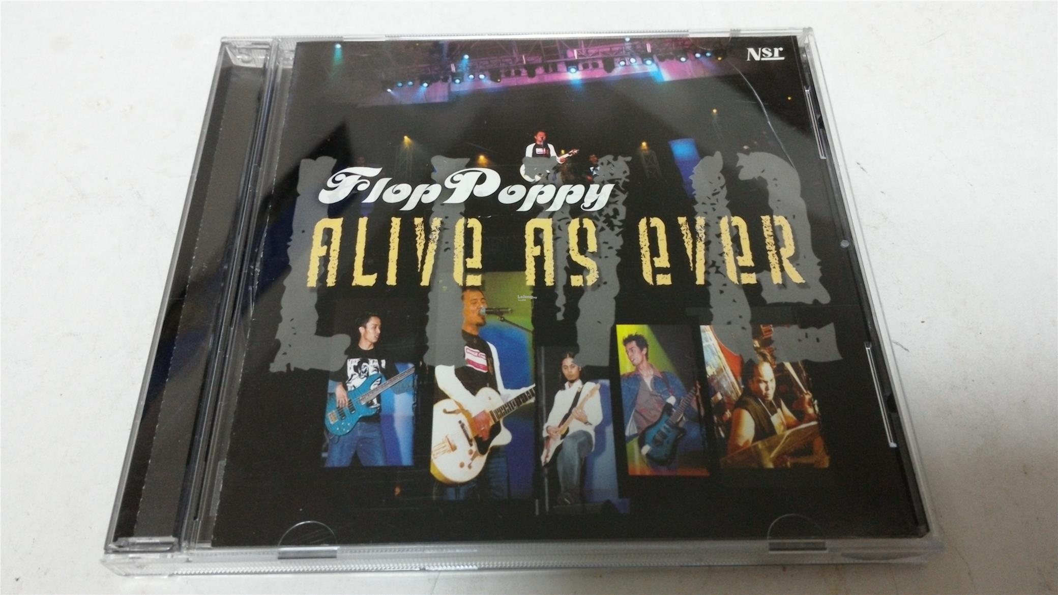 FLOP POPPY - ALIVE AS EVER CD
