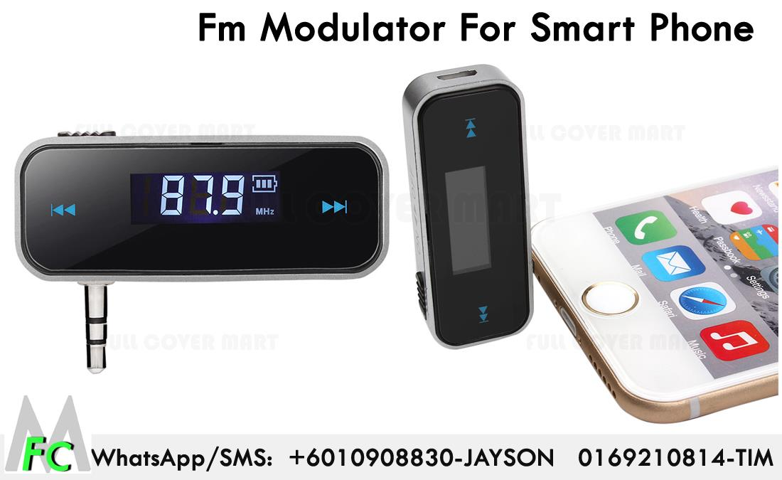 FM Transmitter For Smart Phone Auto Player Audio Devices Fm Modulator