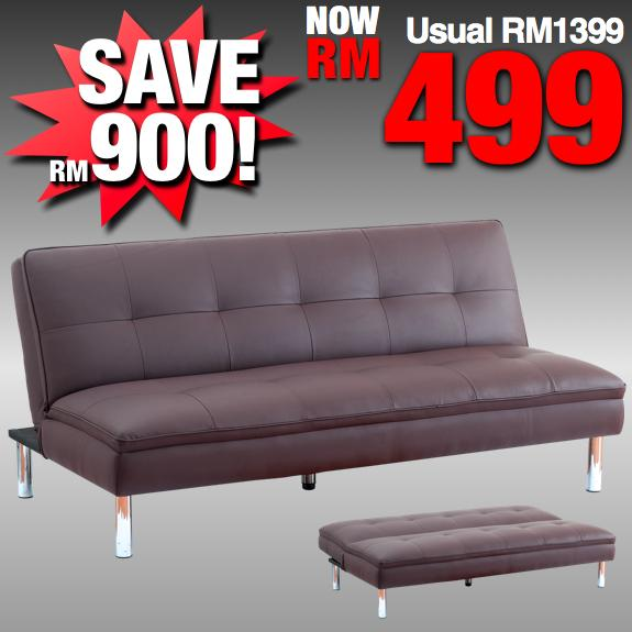 Foam novelty sofabed rm499 regular rm1399 save rm900 kuala lumpur end time 3 5 2012 6 15 00 for Sofa bed kuala lumpur