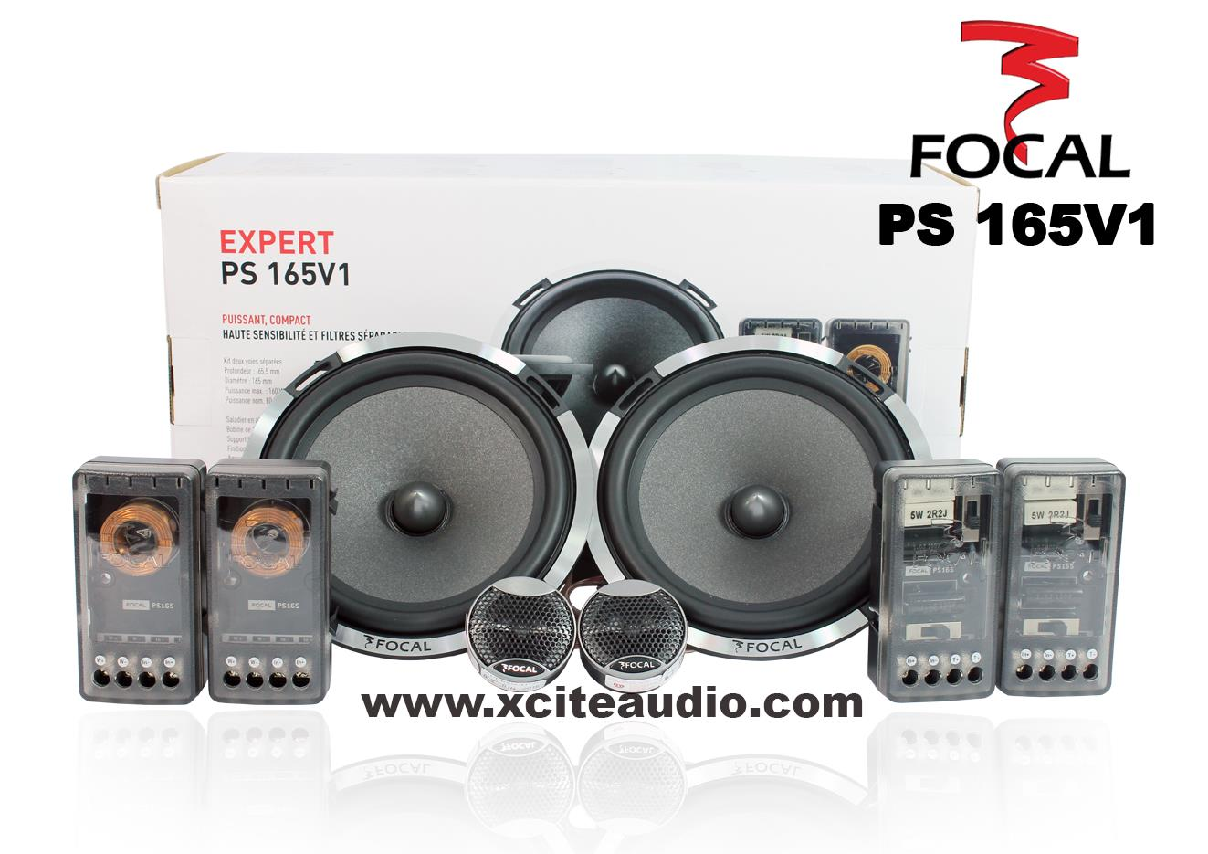 Focal Performance PS 165 V1 Expert Series 6.5' 2-Way Component Speaker