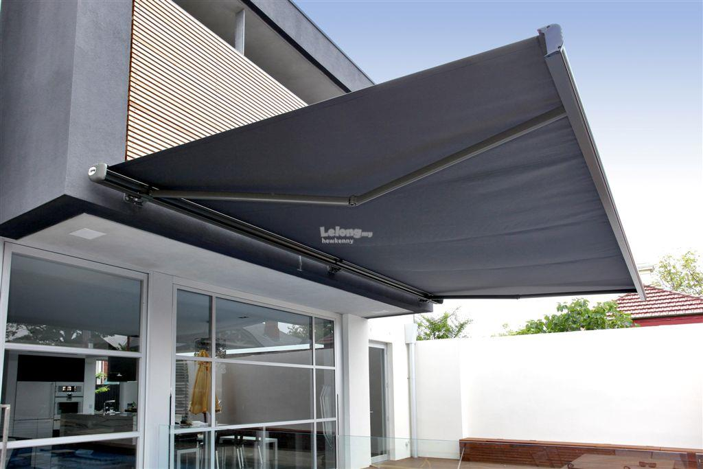 Folding Type Motorized Fabric Awning