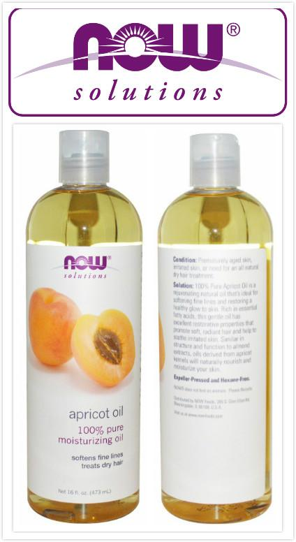 Now Foods, 100% Pure Apricot Oil (473 ml)