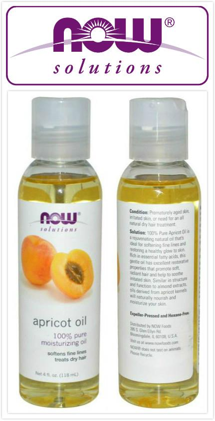 Now Foods, 100% Pure Apricot Oil, Softens Fine Lines (118 ml)