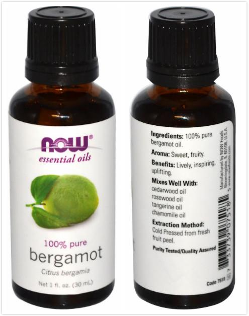 Now Foods, 100% Pure Bergamot Essential Oil (30 ml)