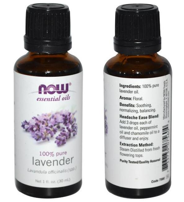 Now Foods, 100% Pure Lavender Essential Oil (30 ml)
