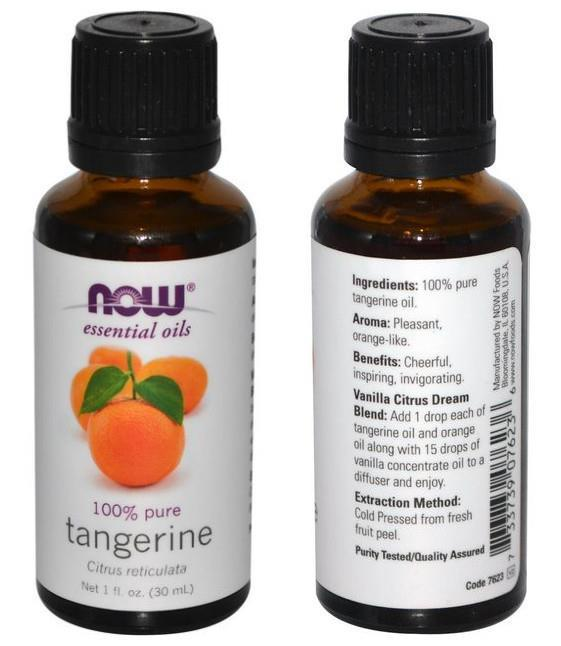 Now Foods, 100% Pure Tangerine Essential Oil (30ml)