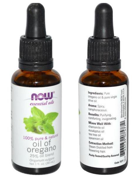 Now Foods, Pure Oregano Oil, 25% Oil Blend (30 ml)