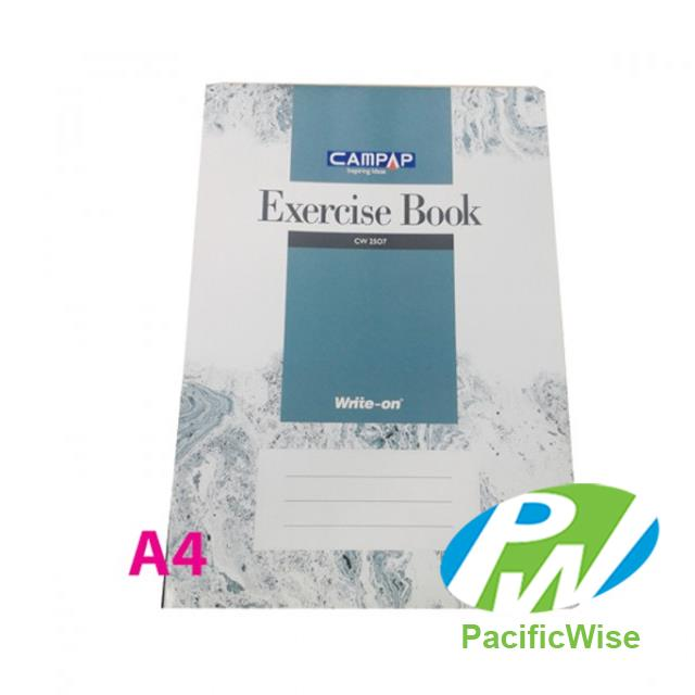 Foolscap CAMPAP CW2507 Exercise Book Single Line (120 Pages)