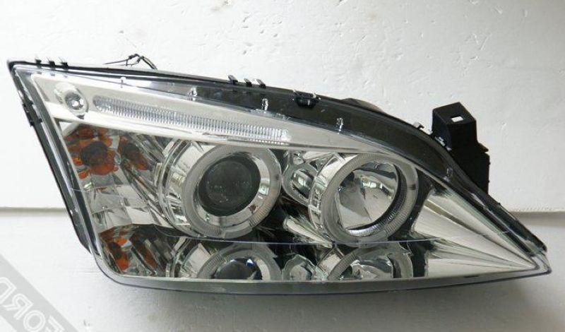 FORD MONDEO METROSTAR RS 01-07 LED Ring Projector Head Lamp