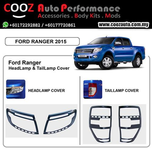 FORD RANGER 2015 T6 HeadLamp & TailLamap / Head & Tail Lamp Cover