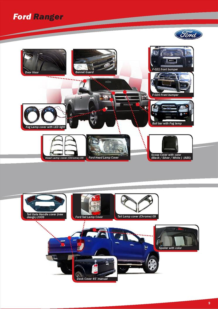 Ford Ranger Wildtrak Malaysia Accessories | Autos Post