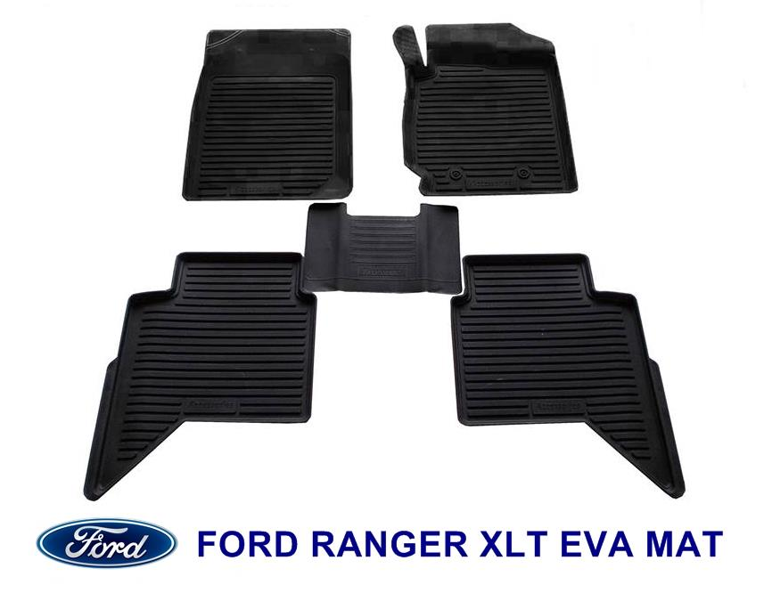 Ford ranger xlt eva rubber car mat complete set itemid 167368246