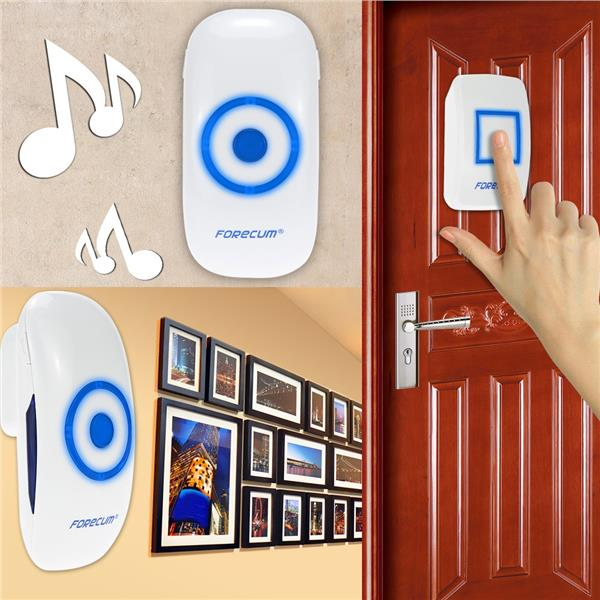 FORECUM� 36 Chimes Songs Wireless Waterproof Remote Control