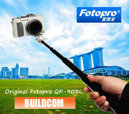 Fotopro QP-903L Transview Camera Monopod With Mobile Phone Holder