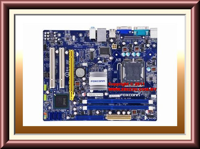 Foxconn G41MD Intel G41/DDR3/LGA775 Motherboard