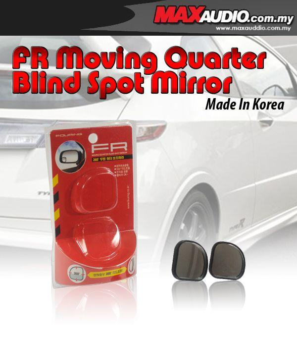 FR Moving Quarter Adjustable Blind Spot Side Mirror Made In Korea