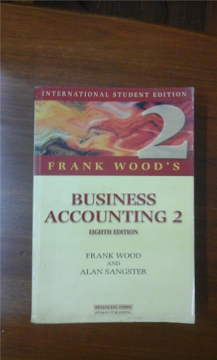 frank wood's business accounting 2