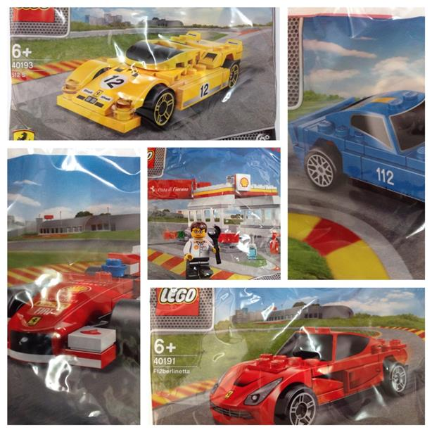 Free 1 PACK PODIUM worth RM35 With Purchase shell lego 5 packs
