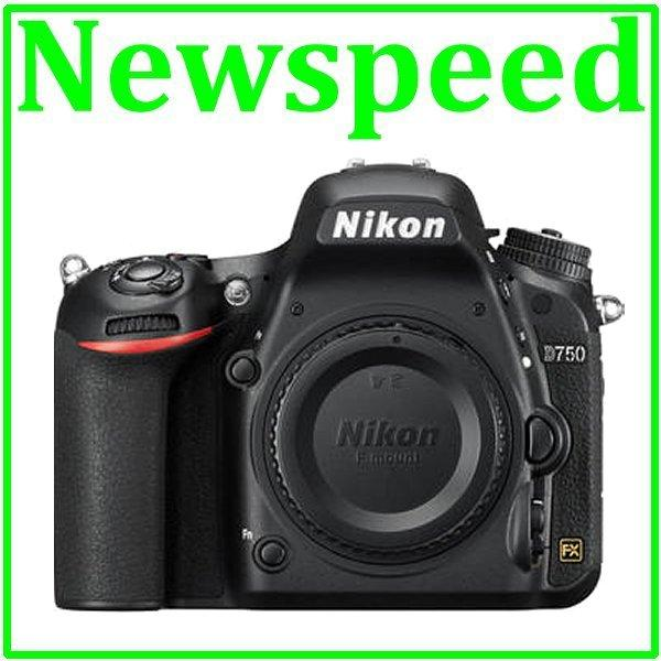 Free 16GB + Bag Nikon D750 Body DSLR Camera (Nikon MSIA)