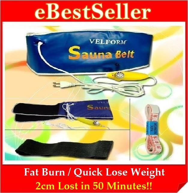 FREE 2 GIFTS + VELFORM Sauna Slimming Tummy Belt Lose Weight Fitness