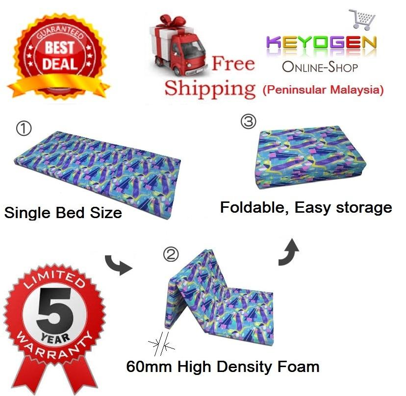 FREE DELIVERY 5Year Warranty Foldable High Density Single Bed Mattress