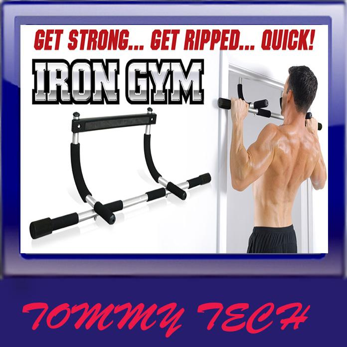 FREE GIFT +Iron Gym Upper Body Workout Bar Fitness Abs Push Up