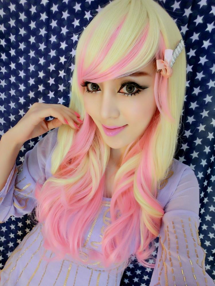 Free Hair Net Lady Wig Japanese Cosplay Party Bl End 10